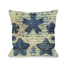 Starfish in Blue Pillow