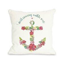 Sail Away Anchor Pillow