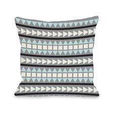 Tobi Print Geometric Pillow
