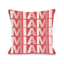 Miami Repeat Pillow