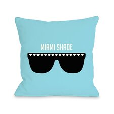 Miami Shade Sunglasses Pillow