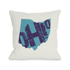 Ohio State Type Pillow