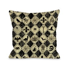 Spooky Diamonds Pillow