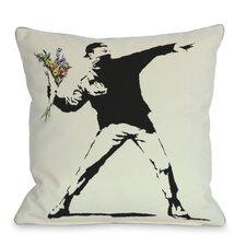 Rage Flowers Pillow