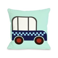Checkered Car Pillow