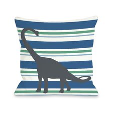 Apostosaurus Stripes Pillow