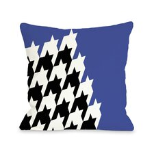 Harry Half Houndstooth Pillow