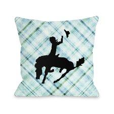 Plaid Cowboy Pillow