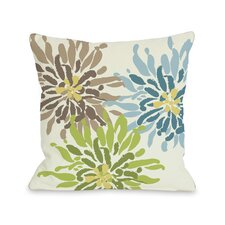Lowell Floral Throw Pillow