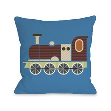 Charlie Train Pillow