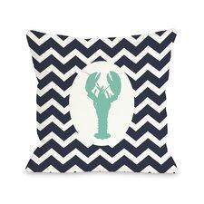 Chevron Lobster Pillow
