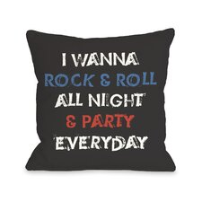 Party Every Day Pillow