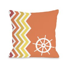 Chevron Wheel Pillow