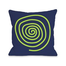Neon Swirl  Pillow