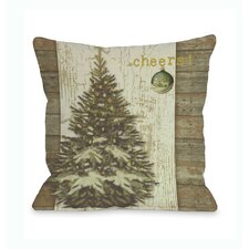 Cheers Tree Pillow