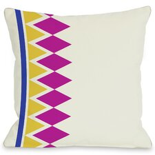 Asymmetrical Diamonds Pillow