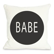 Babe Circle Pillow