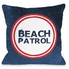 Beach Patrol Pillow
