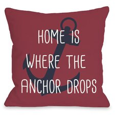 Anchor Drops Pillow