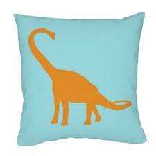 Apatosaurus Stripes Pillow