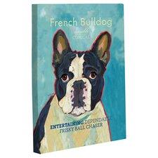 Doggy Decor French Bulldog 2 Graphic Art on Canvas