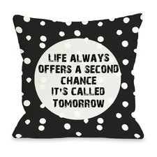 Second Chance Dot Pillow