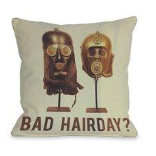 Bad Hairday Masks Pillow
