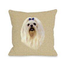 Doggy Décor Maltese  Pillow