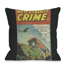 Men Against Crime No 7  Pillow