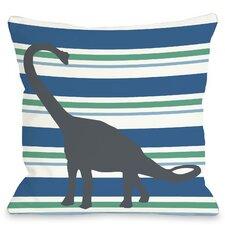 Apostosaurus Stripes Pillow