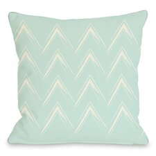 Sabrina Brush Chevron Pillow
