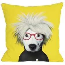 Pets Rock Soup Throw Pillow