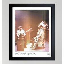 ''Light My Fire'' Framed Photographic Print