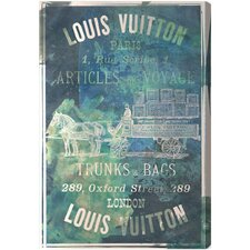 Articles on The Water Vintage Advertisement on Canvas