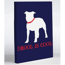 Drool is Cool Canvas Wall Decor