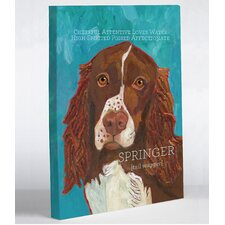 Doggy Decor Springer 1 Graphic Art on Canvas
