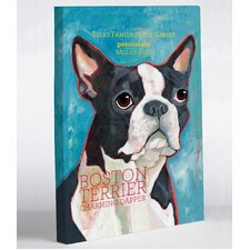 Doggy Decor Boston Terrier 1 Graphic Art on Canvas