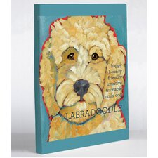 Doggy Decor Labradoodle 1 Graphic Art on Canvas