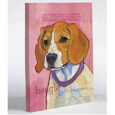 Doggy Decor Beagle 1 Graphic Art on Canvas