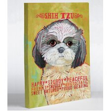 Doggy Decor Shihtzu 2 Graphic Art on Canvas