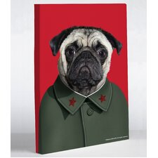 <strong>OneBellaCasa.com</strong> Pets Rock China Canvas