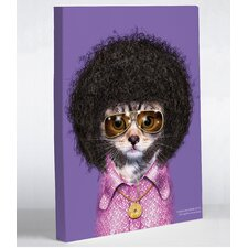 <strong>OneBellaCasa.com</strong> Pets Rock Disco Canvas