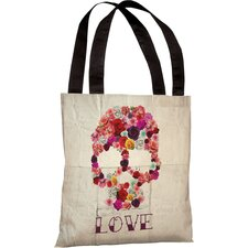 Oliver Gal Bed of Roses Polyester Tote Bag