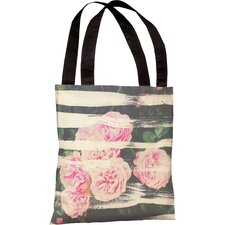 Oliver Gal Blooming Strokes Tote Bag