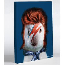 Pets Rock Glam Rock Graphic Art on Canvas