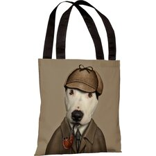 Pets Rock Detective Tote Bag
