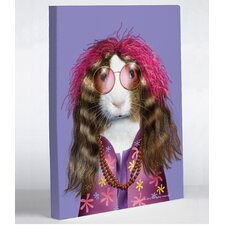 Pets Rock Hippie Canvas