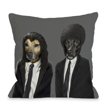 <strong>OneBellaCasa.com</strong> Pets Rock Hit Dogs Pillow