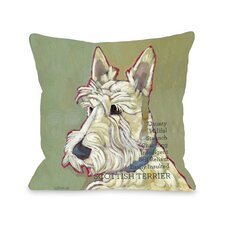 Doggy Décor Scottish Terrier2 Pillow