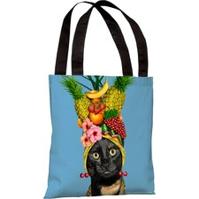 <strong>OneBellaCasa.com</strong> Pets Rock Fruit Tote Bag